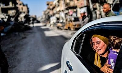 SNHR, Rakka'nın sivil katliam raporunu açıkladı.