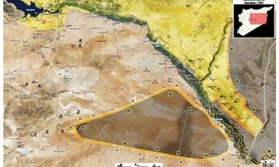 Suriye ordusu tarafından Deyrezzor kentinden tamamen temizlenen IŞİD militanları Suriye çölüne kaçtı.