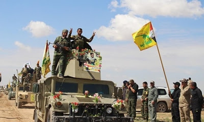 Haşdi Şabi güçleri IŞİD savaşında büyük kayıp verdi.