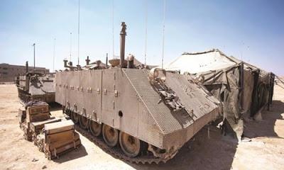 İsrail bölgede savaş hazırlığı yapıyor.