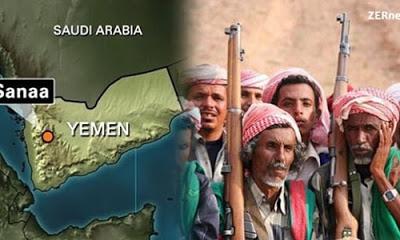 Şiddetli çatışmaların yaşandığı Yemen'de İran Büyükelçiliği yakıldı.