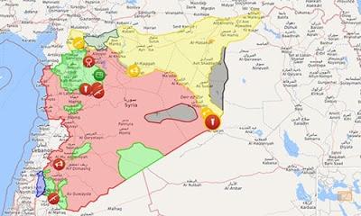 Rusya, Suriye'de IŞİD kontrolünde yerleşim kalmadığını açıkladı.