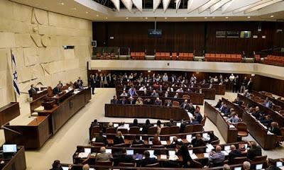 İsrail Parlamentosu, Filistinlilere idam getiren yasa tasarısının ilk turunu oyladı.
