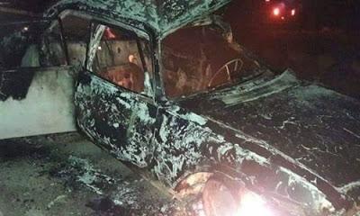 Menbiç'te YPG'nin araçlarına düzenlenen bombalı saldırıda 3 kişi öldü