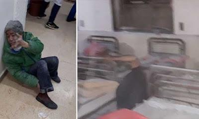 Suriye sınırında bulunan Azez ilçesinde PYD iki hastaneye ateş etti, 12 kişi yaralandı.