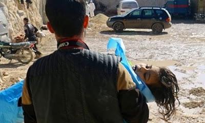 Rejim güçleri Doğu Guta'da kimyasal silahları kullanmaya devam ediyor