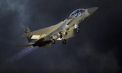 Suriye ordusu tarafından İsrail uçaklarına müdahale edildi.