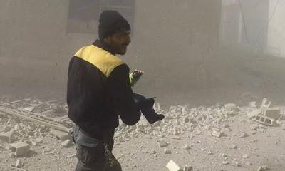 Rejim güçleri Doğu Guta'da kimyasal silah kullanmakla suçlanıyor, suçlamalar ABD'ye ait.