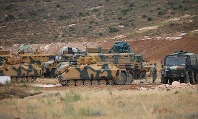 İdlib'de kurulumu devam eden Türkiye'nin gözlem noktasına saldırı düzenlendi.