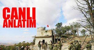 Afrin son durum 15 mart 2018. TSK/ÖSO unsurları Afrin'de hızla ilerleme kaydediyor.
