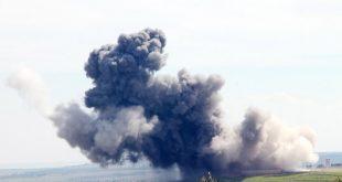 BASILHAYE tepesi YPG kulesi imha ediliyor